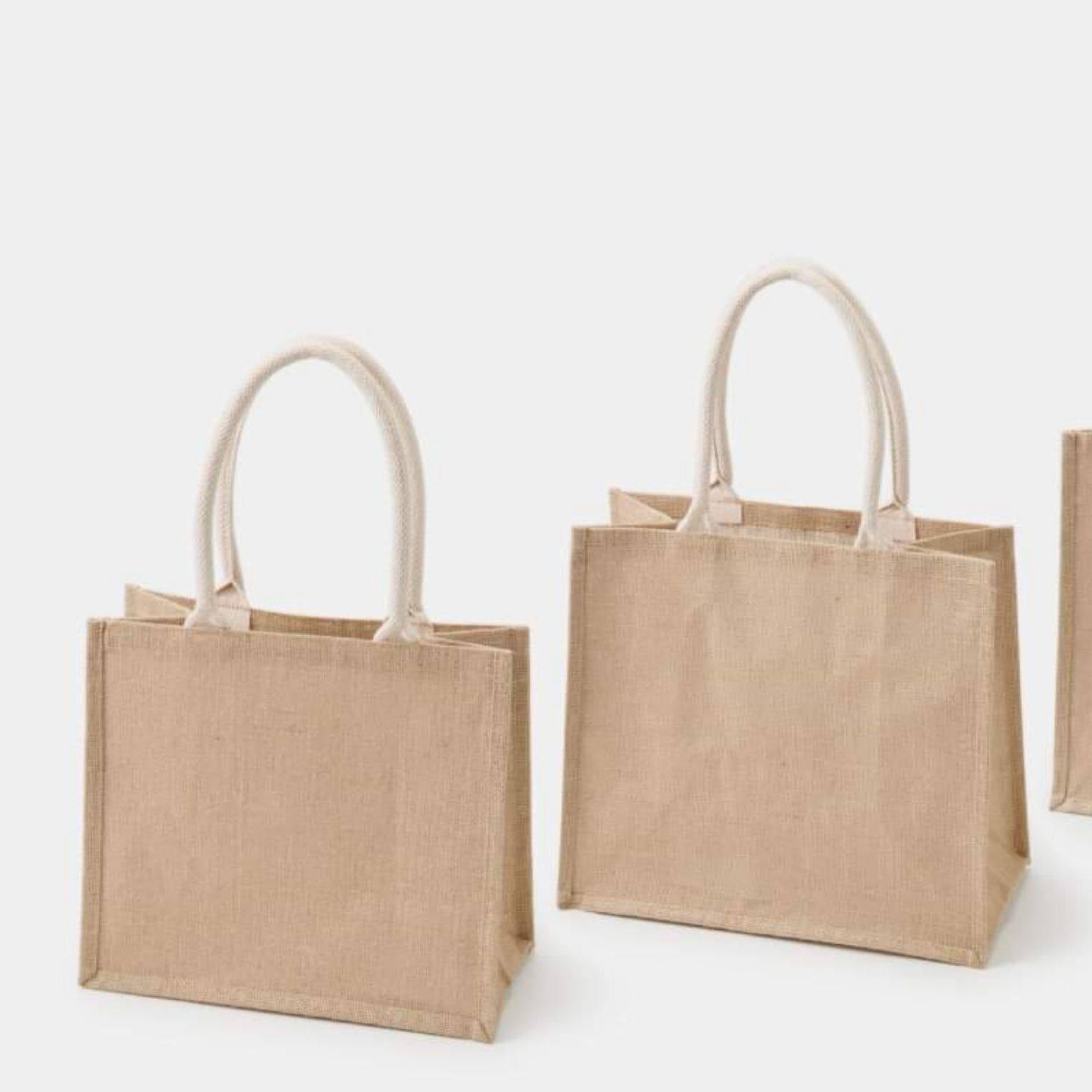กระเป๋า Jute My Bag จาก  Muji.