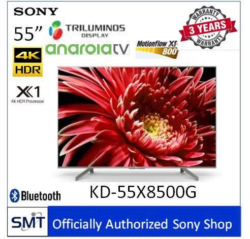 Sony  55  4k Hdr Andriod Tv Kd-55x8500g (สีเงิน) รุ่นปี 2019.