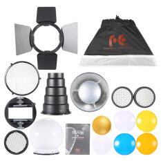 ซื้อ 9 In 1 Speedlite Accessories Kit With Universal Mount Adapter Barndoor 20×30Cm Softbox 2 Honeycombs Mini Reflector Conicalsnoot Diffuser Ball 4 Color Filters Intl Unbranded Generic ออนไลน์