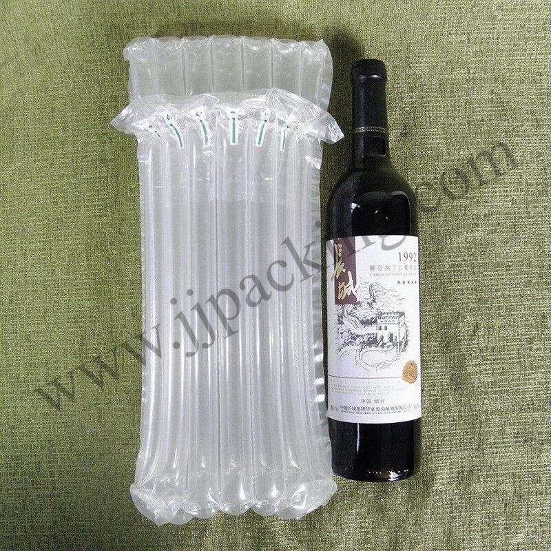 ถุงลมกันกระแทกใส่ขวดไวน์.