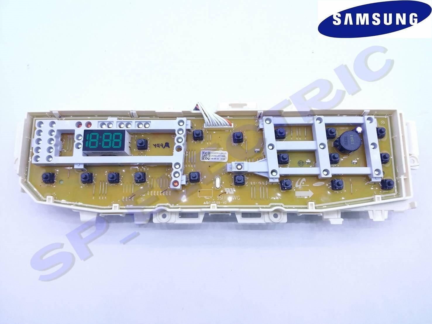 DC92-01747A แผง PCB เครื่องซักผ้า Samsung รุ่น WA16J6750SP/ST