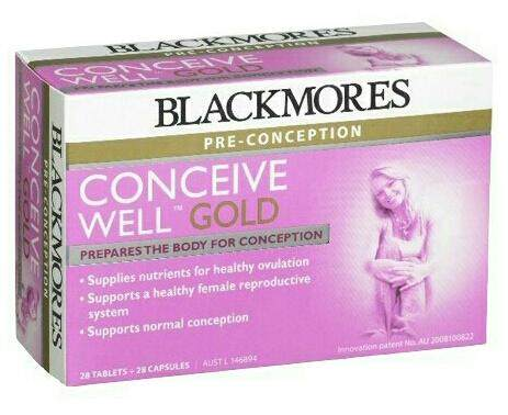 Blackmores Conceive Well Gold ไวตามินตั้งครรภ์ แบลคมอร์ By Nv Australia Health And Beauty Products.
