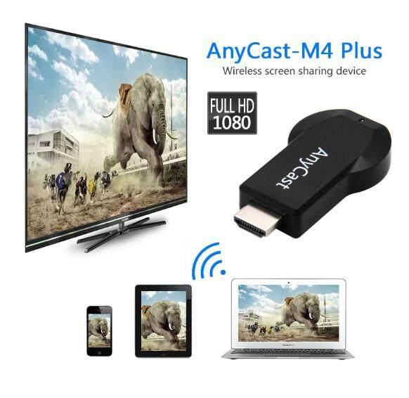 เต็ม Hd1080p Hdmi Anycast Chromecast Miracast Dlna ออกอากาศ M4plus ทีวีสติ๊ก Wifi แสดงตัวรับสัญญาณ Dongle สนับสนุน Windows Andriod.