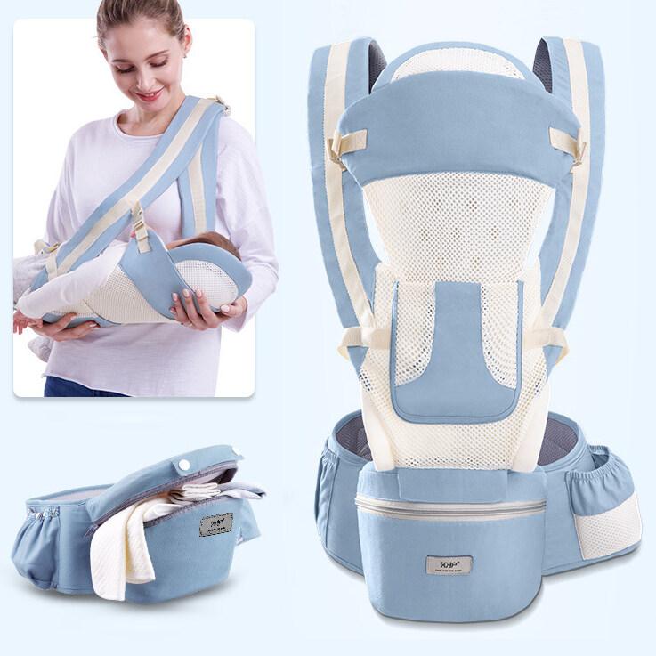 BabySafe เป้อุ้มเด็ก กระเป๋าอุ้มเด็ก0-30kg ผ้าอุ้มเด็กทารกแรกเกิด ถนอมศรีษะ ที่อุ้มเด็กถอด เปลอุ้มเด็ก15 แบบ กระเป๋าอุ้มลูกระบายอากาศ Baby Carrier