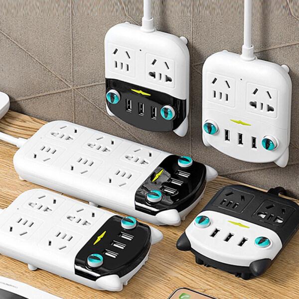 AT | Ổ cắm thông minh USB sáng tạo đa năng chuyển đổi bảng mạch ổ cắm mèo