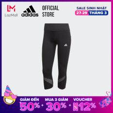 adidas RUNNING Quần bó 3/4 Own the Run Nữ Màu đen FS9833
