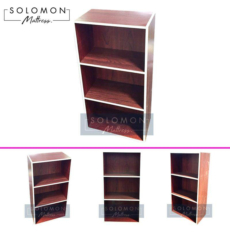 Solomon กล่องอเนกประสงค์สี 3 ชั้น (สีโอ๊ค) By Wing-Infurniture.