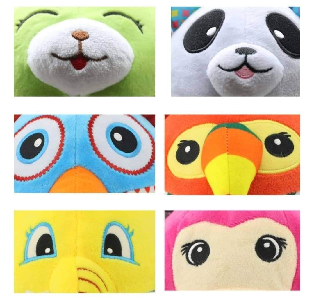 ลูกบอลผ้าเสริมพัฒนาการ ลายสัตว์ จากแบรนด์ Skk Baby By Kiyomaromind.