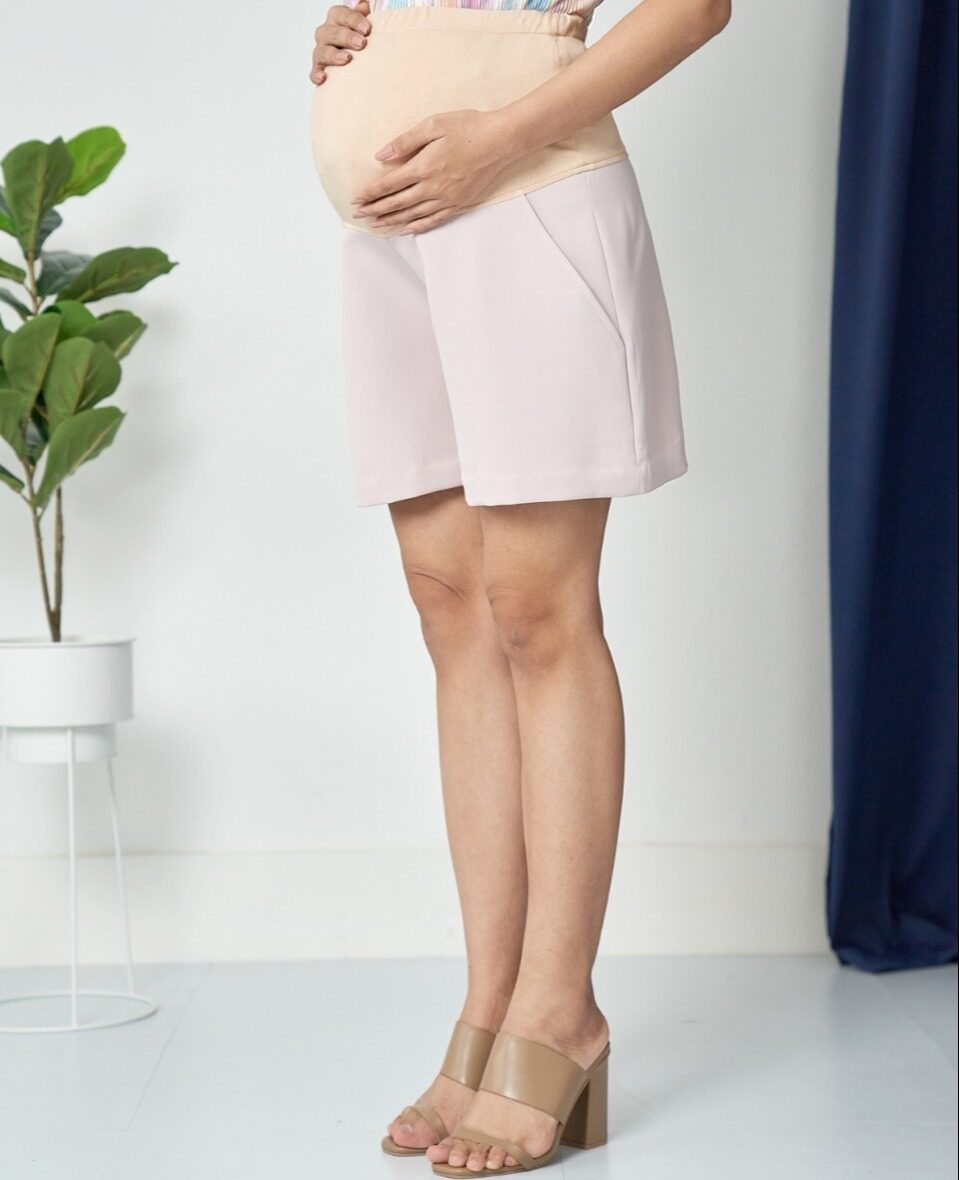 โปรโมชั่น MAMARI.TH กางเกงคนท้อง แฟชั่น ขาสั้น ใส่สบาย มียางยืดปรับเอว