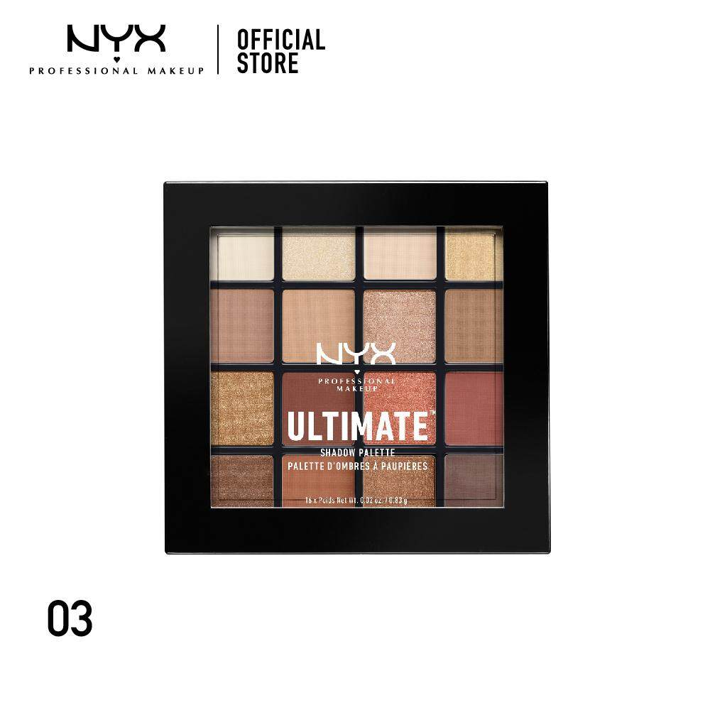 อายแชโดว์พาเลทสุดคุ้ม นิกซ์ โปรเฟสชั่นแนล เมคอัพ อัลติเมท แชโดว์ พาเลท NYX Professional Makeup Ultimate Shadow Palette - USP03 (อายแชโดว์)
