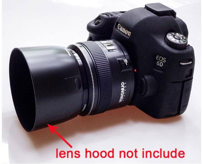 Yongnuo Yn50mm F1.8 เลนส์ขนาดใหญ่เลนส์โฟกัสสำหรับ Canon Ef Mount Eos Camera.