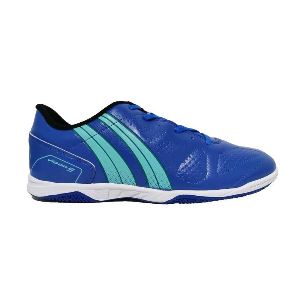 Pan รองเท้าฟุตซอล Vigor 9 ELVALOY PF14P3 สีน้ำเงิน DG