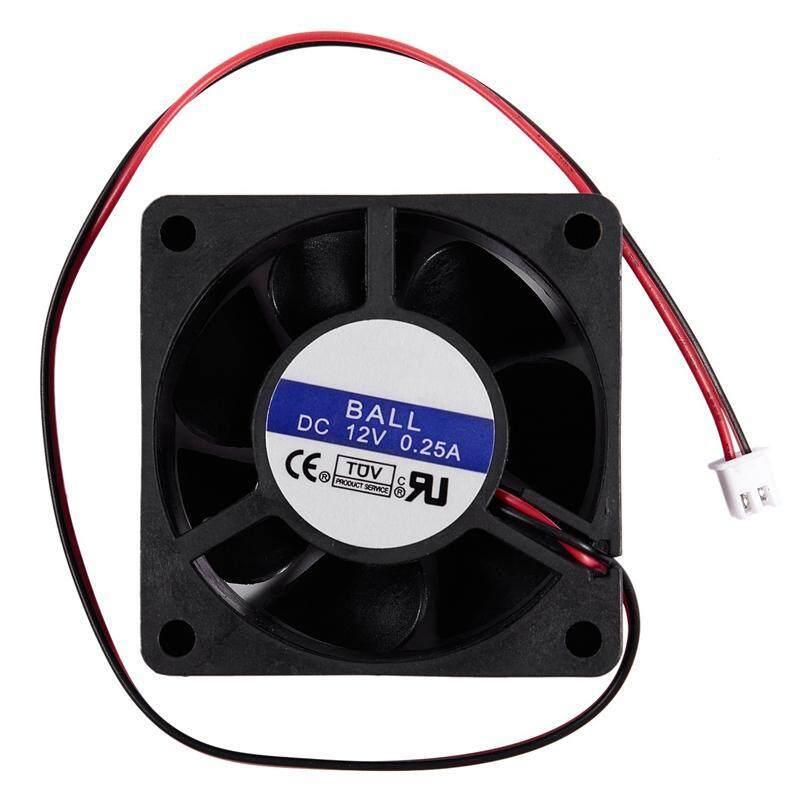 Bảng giá 60mm x 25mm DC 12V 0.25A 2Pin Cooling Fan for Computer Case CPU Cooler Phong Vũ