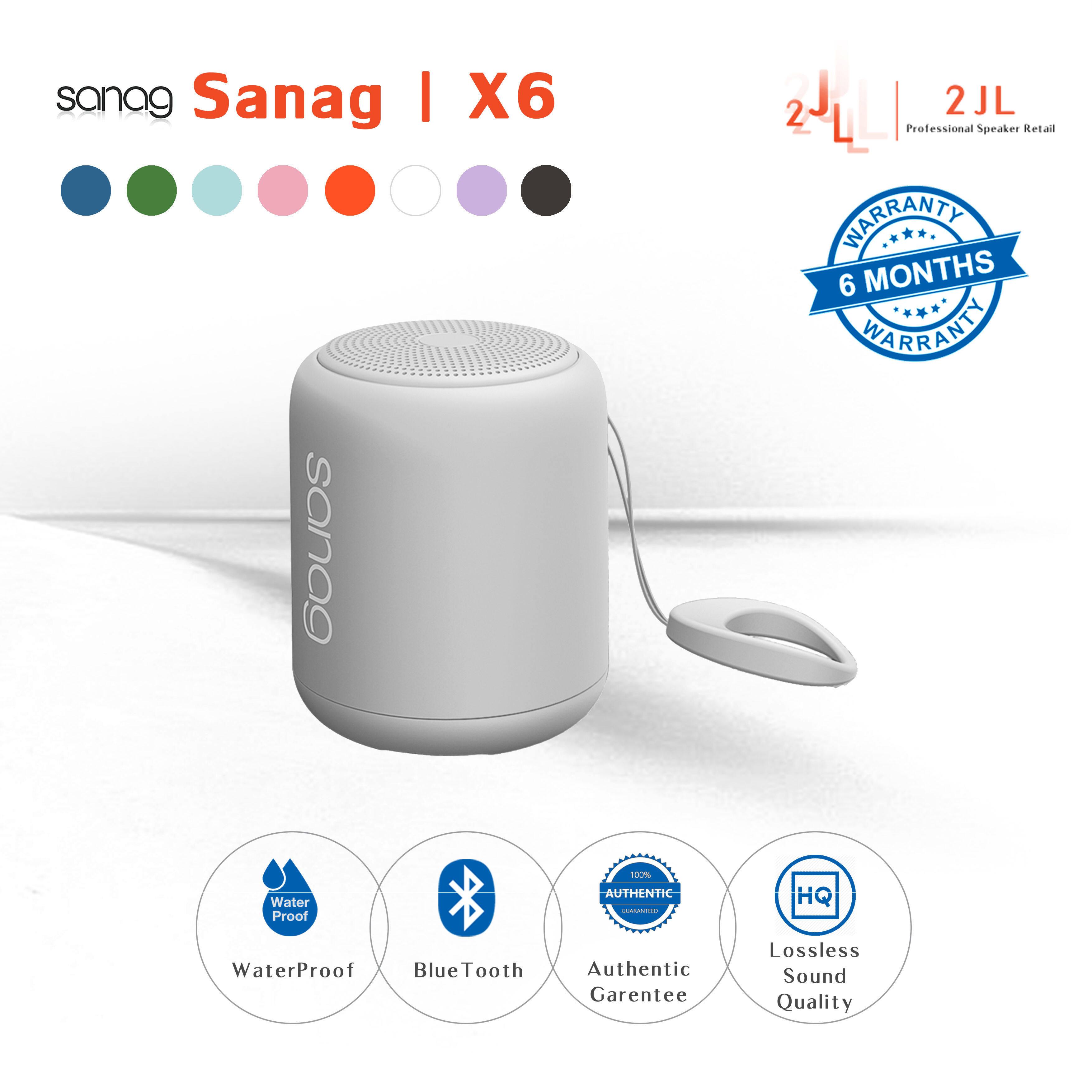 Sanag X6 5.0 Wireless Bluetooth Speaker Micro-Sd Play Portable Waterproof ลำโพงบลูทูธ ลำโพงกลางแจ้ง บูลทูธไร้สาย แบบพกพากันน้ำ(ของเเท้100%).