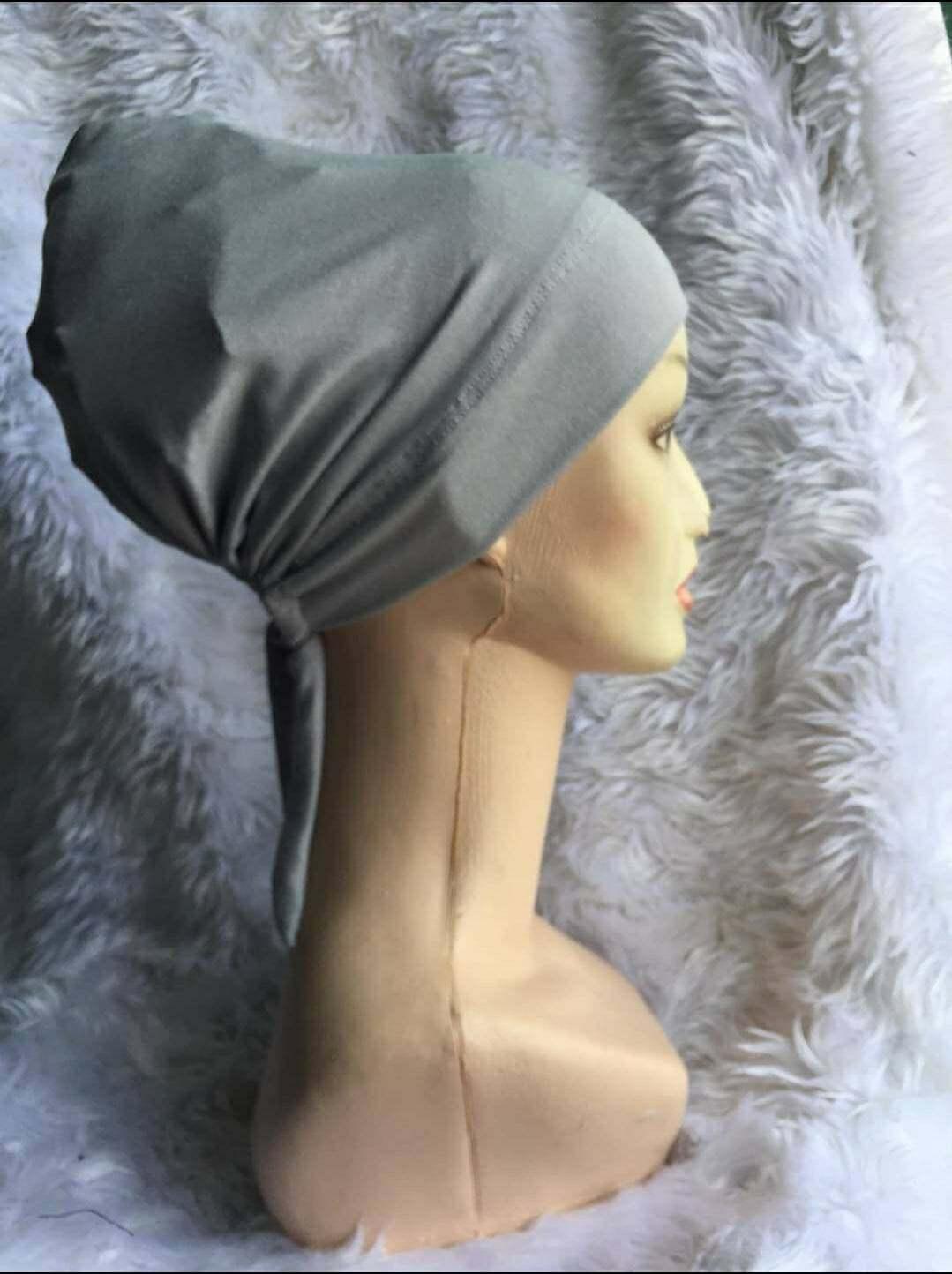 IBC อินเนอร์คลุมผม อินเนอร์ฮิญาบ ผ้าคลุมหัว. อินเนอร์อิสลาม ผ้าเรยอน แบบผูกหลัง กระชับ เนื้อนิ่มมาก ใส่สบาย ขนาดฟรีไซส์