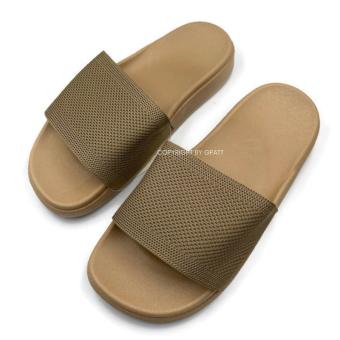 Gpatt : Basic Sandals รองเท้าแตะสวมผู้หญิง รองเท้าแตะสวมแฟชั่นผู้หญิง หน้าผ้า รองเท้าแฟชั่นผู้หญิงเก็บทรงเท้าเรียวสวย