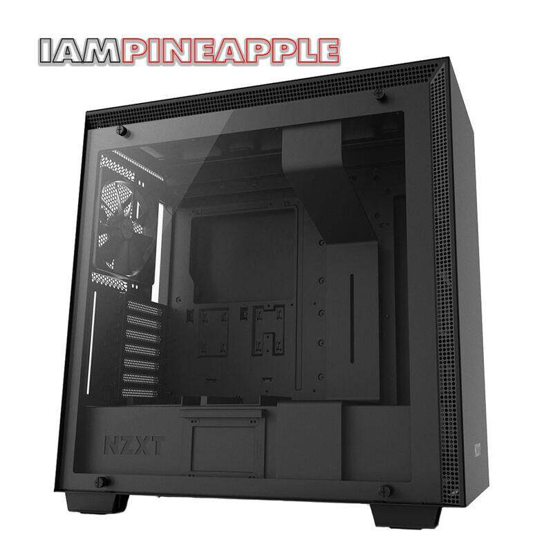 Nzxt Case H700 Tempered Glass [black] By Jura.