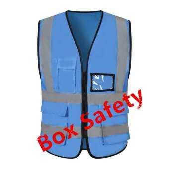 X-Box,Reflective Vest เสื้อจราจร  เสื้อกั๊กจราจร  เสื้อกั๊กสะท้อนแสง  เสื้อกั๊กสะท้อนแสง,ความปลอดภัยเสื้อกั๊กสะท้อนแสงเห็นได้ชัด Traffic Construction ชุดปั่นจักรยาน safety vest