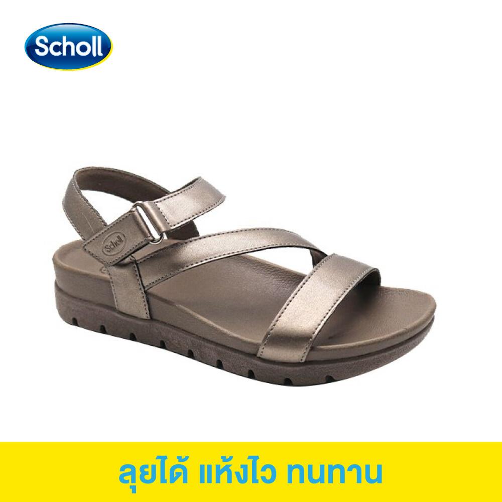 Scholl รองเท้าสกอลล์-เมล่า Mela รองเท้ารัดส้น ผู้หญิง รองเท้าสุขภาพ นุ่มสบาย กระจายน้ำหนัก.