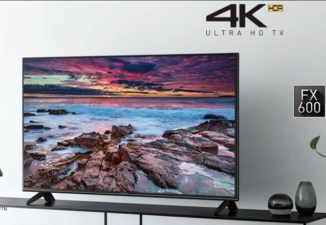 PANASONIC LED TV 43 นิ้ว 4K HDR Smart TVรุ่น TH-43FX600T