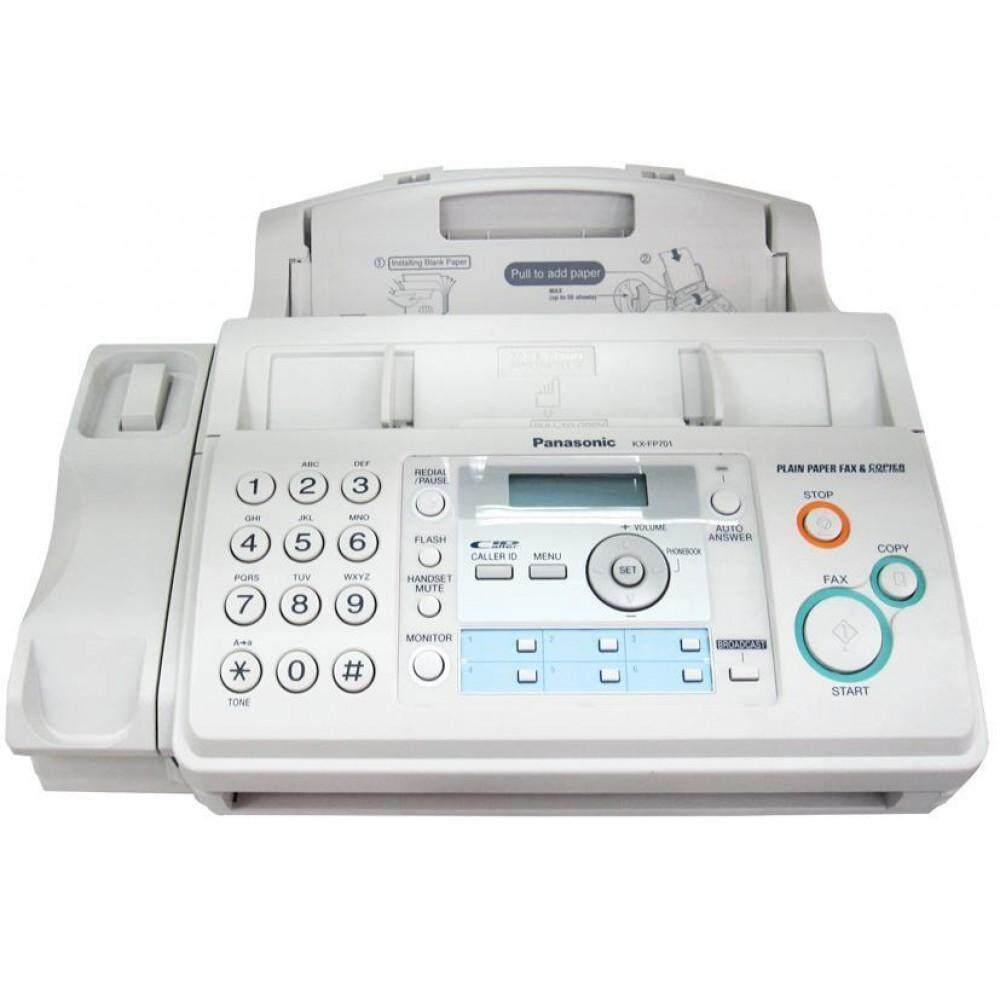 Panasonic Kx-Fp701cx เครื่องโทรสารกระดาษธรรมดา ระบบฟิล์ม.