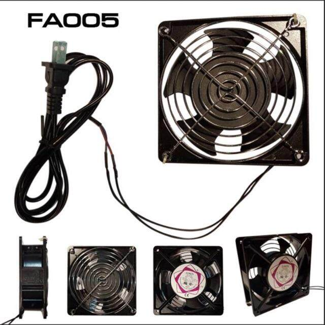 พัดลมระบายความร้อนตู้rack ยี่ห้อ Union ใช้ไฟ 220v.