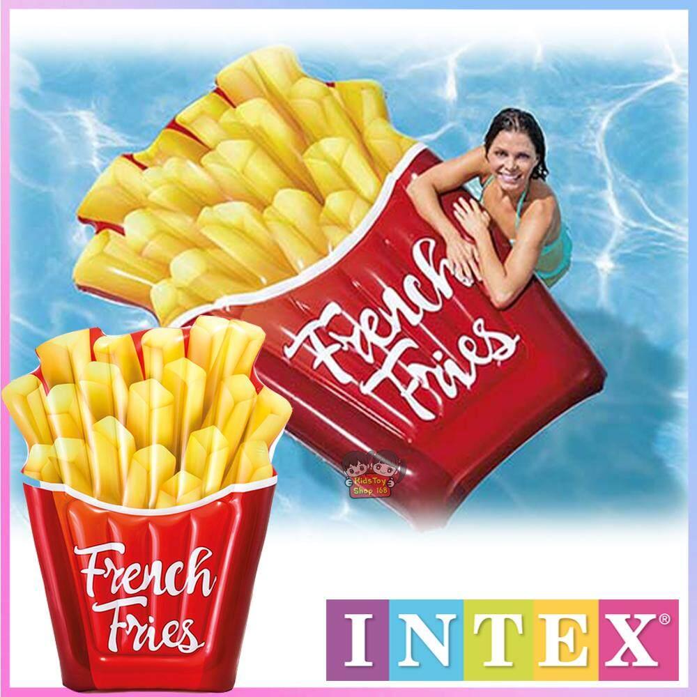 Kidstoyshop168 Intex 58775 French Fries Float แพยาง ลายเฟรนฟราย By Kidstoyshop168.