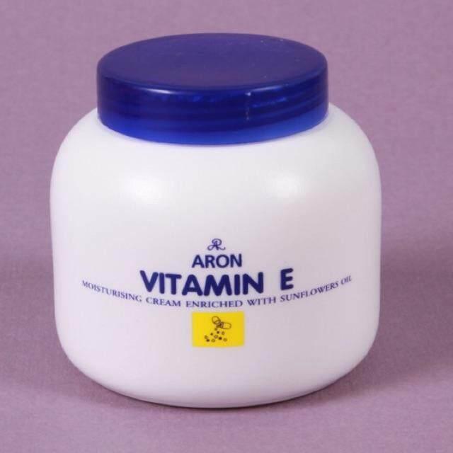 Ar Vitamin E Moisturizing Cream เออาร์ วิตามินอี มอยเจอร์ไรซิ่ง ครีม อารอน ทาผิวกาย เพื่อผิวสุขภาพดี เนียนใส กลิ่นหอม ผิวชุ่มชื้น ขาวใส แท้ 100% 1 กระปุก 200 G..