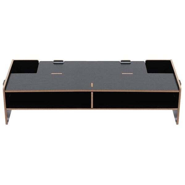 Bảng giá Wood Monitor Stand Multifunctional Office Desk Organiser Desktop Computer Screen Riser for TV, PC, Laptop Phong Vũ