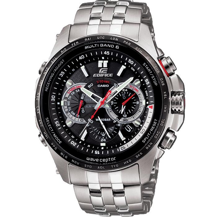 Casio Stainless Steel Edifice Eqw-M710db-1a นาฬิกา คาซิโอ้ รุ่นยอมนิยม ราคาพิเศษ ซื้อวันนี้จัดส่งฟรี.
