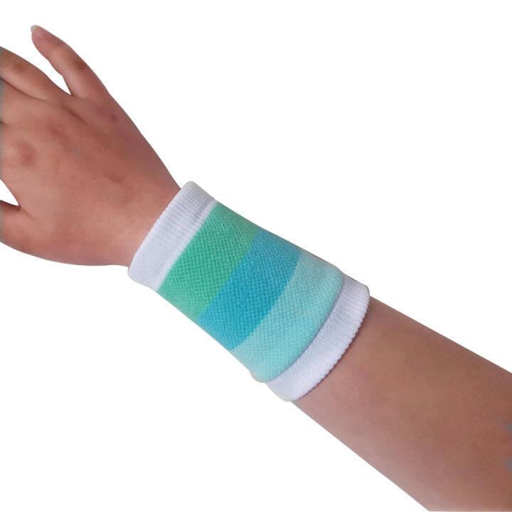 Redwokea 1 pcs women's Wrist band Sweat Wristband Cotton Towel Banded Yarn  Elastic Wrist Support Men Women Kids Tennis Wristlets Sports Fitness Band |  Lazada