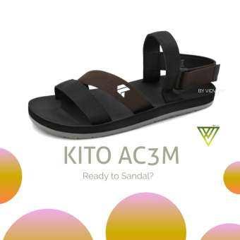 !! ลดสนั่น !! รองเท้ารัดส้น Kito AC3M สีน้ำตาล, สีแดง, สีเทา, สีเขียว, สีน้ำเงิน เบอร์ 36-43