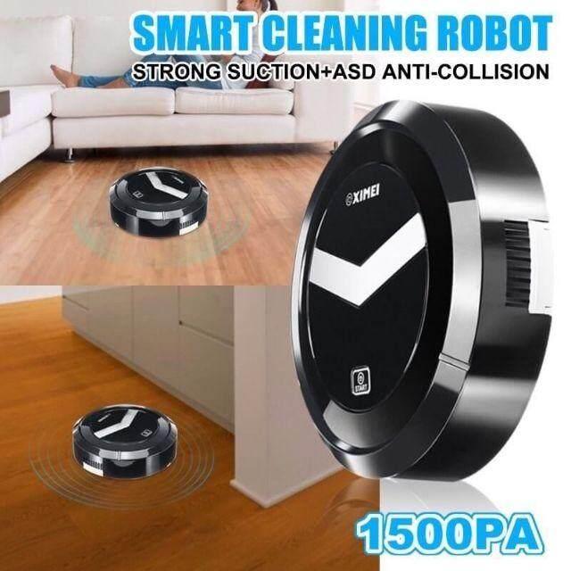 SMART ROBOT หุ่นยนต์ดูดฝุ่นเก็บเศษขยะอัตโนมัติ