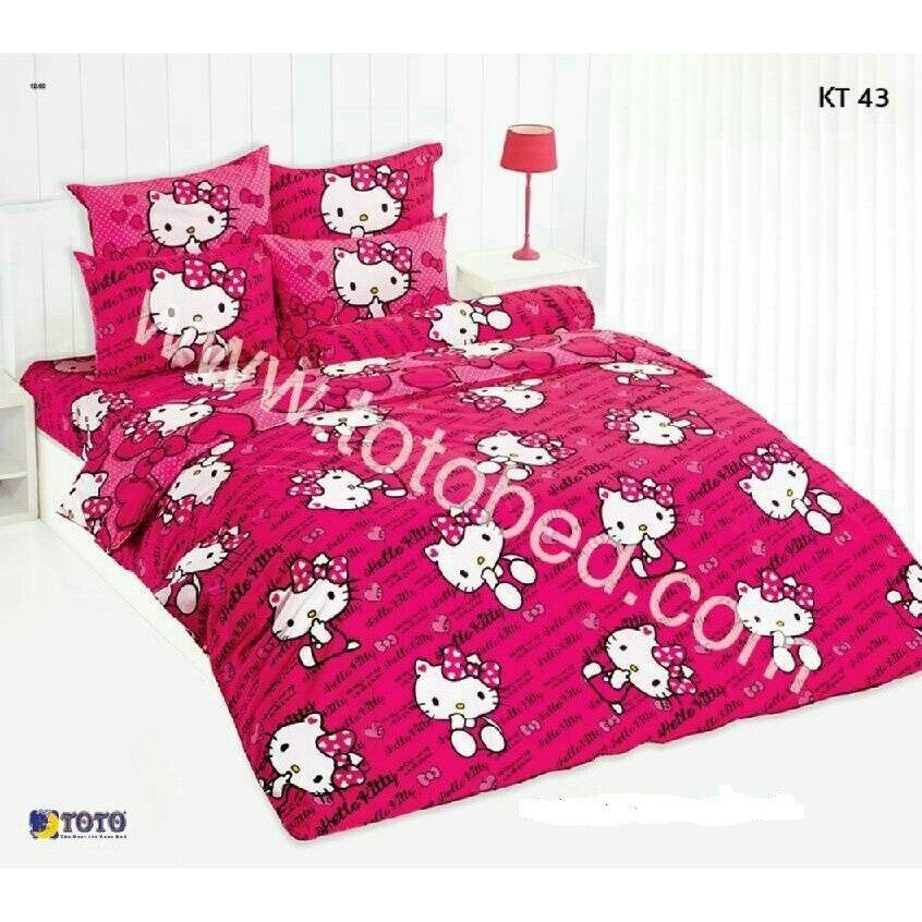 Kt43: ผ้าปูที่นอน ลายคิตตี้ Kitty/toto.