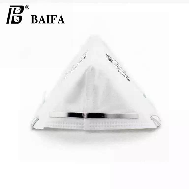 Baifa Shop No.n-01 หน้ากากป้องกันฝุ่น 3m 9010 N95 Particulate Respirator หน้ากากป้องกันฝุ่นละอองมาตรฐาน(แพ็ค5ชิ้น) By Baifashop.
