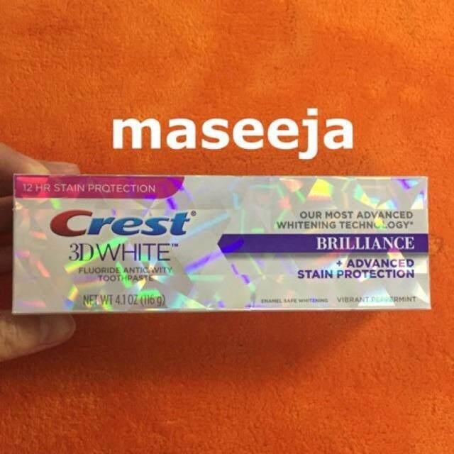 [แท้♥️พร้อมส่ง] Crest Advanced + Stained Protection ยาสีฟัน สูตรฟันขาว