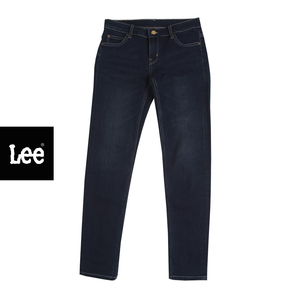 Lee กางเกงยีนส์เอวต่ำทรงเข้ารูป Norma รุ่น Le 19368l03 ลี เสื้อผ้าผู้หญิง กางเกงยีนส์ผู้หญิง.