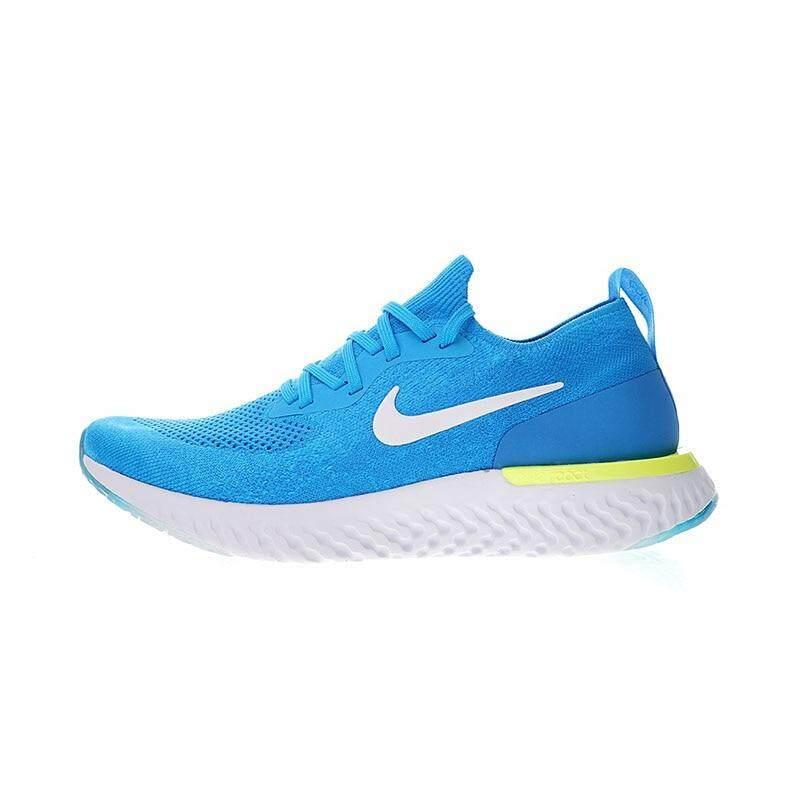 NIKE_EPIC REACT FLYKNIT_Men and Women Weave Stabbing Sports Running Shoes