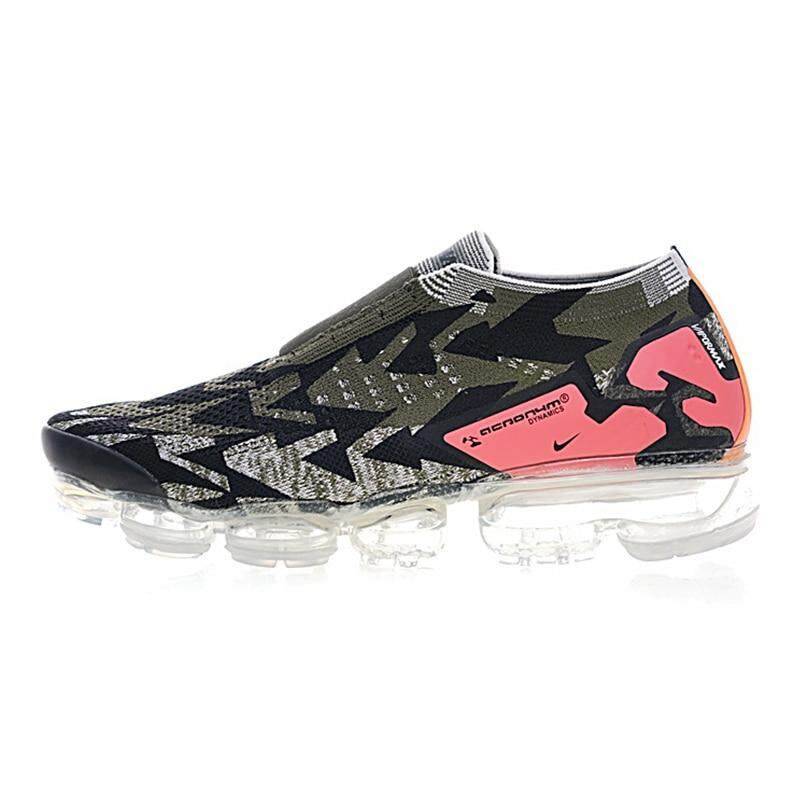 5597d1e319 Nike Air Vapormax FK Moc 2 Breathable Men's Running Shoes, Black,  Wear-resistant