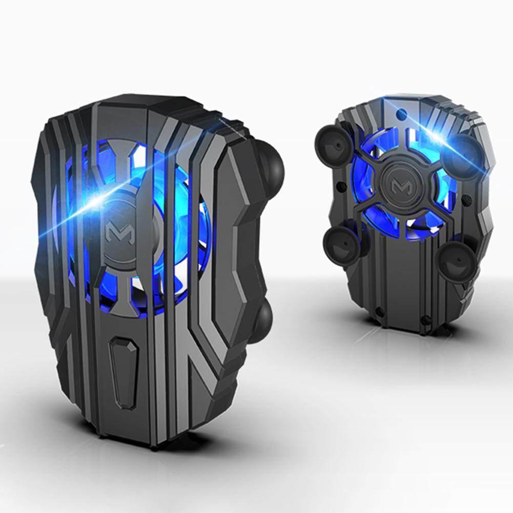 Memo Fl01 พัดลมระบายความร้อนมือถือ พัดลมระบายความร้อนตอนเล่นเกมส์ พัดลมมือถือ Memo Cooler Cooling พัดลมแบตเตอรี่ในตัว แบต 500mah.