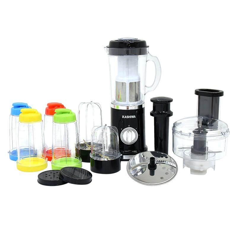 *ส่งฟรี100%kerry- Kashiwa เครื่องปั่นอเนกประสงค์ Super Blender 6in1 - เครื่องปั่น เครื่องคั้นน้ำผลไม้ เครื่องบด แยกกาก เครืองปั่นน้ำผลไม้ เครื่องปั่นน้ําผลไม้ เครื่องปั่นผลไม้ ผลไม้ เครื่องปั่นสมูทตี้ สกัดน้ำผลไม้ ผัก เครื่องสกัดน้ำ Juice Separator Juicer.