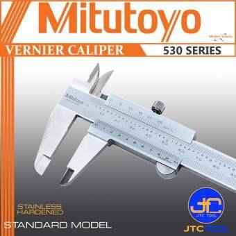 """เวอร์เนีย คาลิปเปอร์หน่วยมิลและนิ้วความละเอียด0.02มิล(0.001นิ้ว) - Vernier Caliper Metric/Inch Graduation 0.02mm(0.001"""") [Series 530] [Brand: Mitutoyo]"""