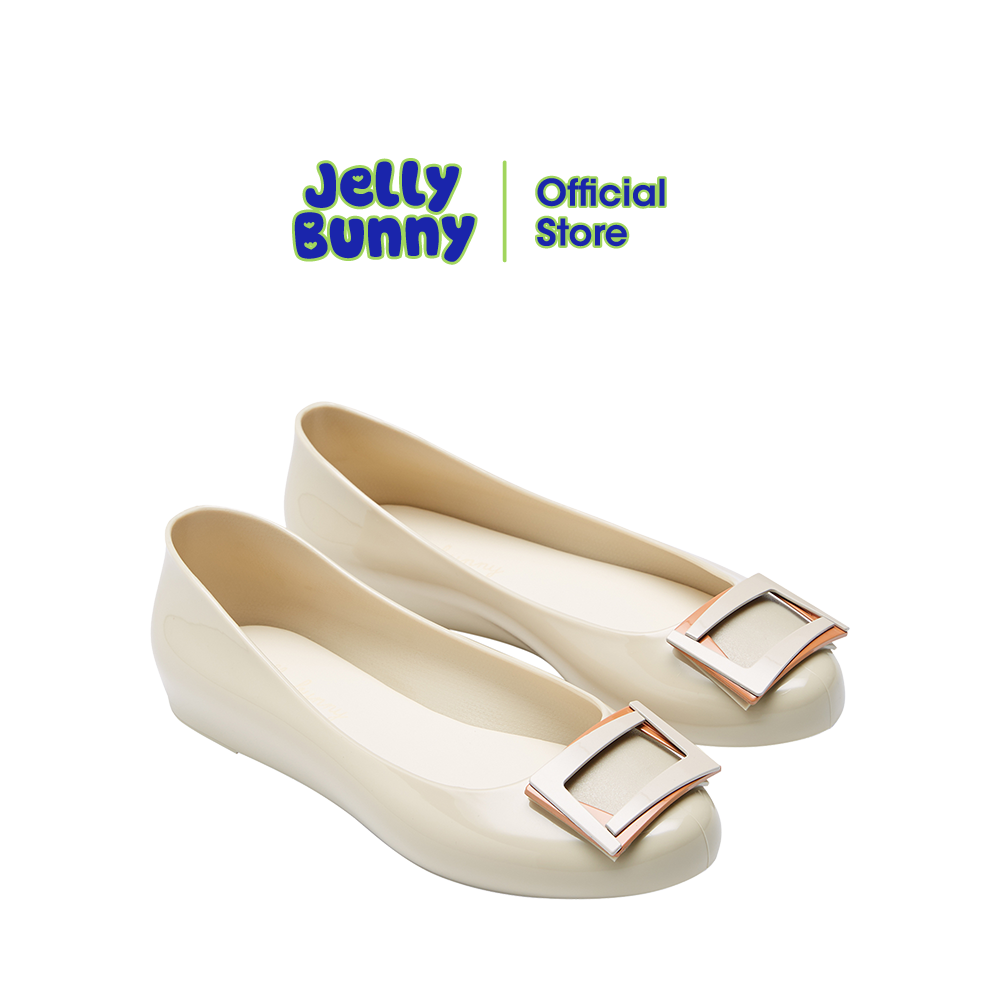 Jelly Bunny รุ่น Angel รองเท้าส้นแบน รองเท้าบัลเล่ต์ รองเท้าหุ้มส้น รองเท้าแฟชั่น รองเท้าผู้หญิง รองเท้า เจลลี่ บันนี่.