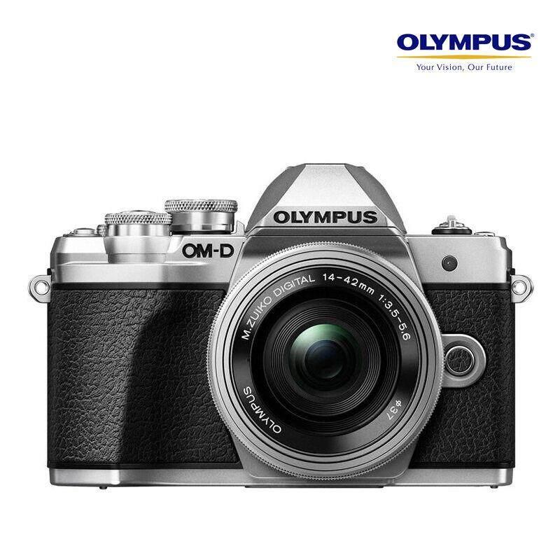 Olympus OM-D E-M10 Mark III Lens 14-42mm - Silver ส่งฟรี สินค้าคุณภาพ