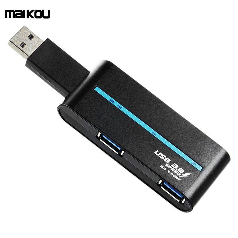 ĐẦU Maikou USB3.0 Hub Đa Năng Bộ Chia USB 4 Cổng Trung Tâm Máy Tính Ra