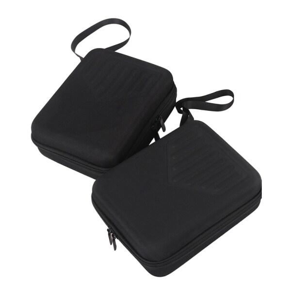 2X17 Key Black Kalimba Case Thumb Piano Mbira Box Water-Resistant Shock-Proof Bag Kalimba Musical Instrument Accessories