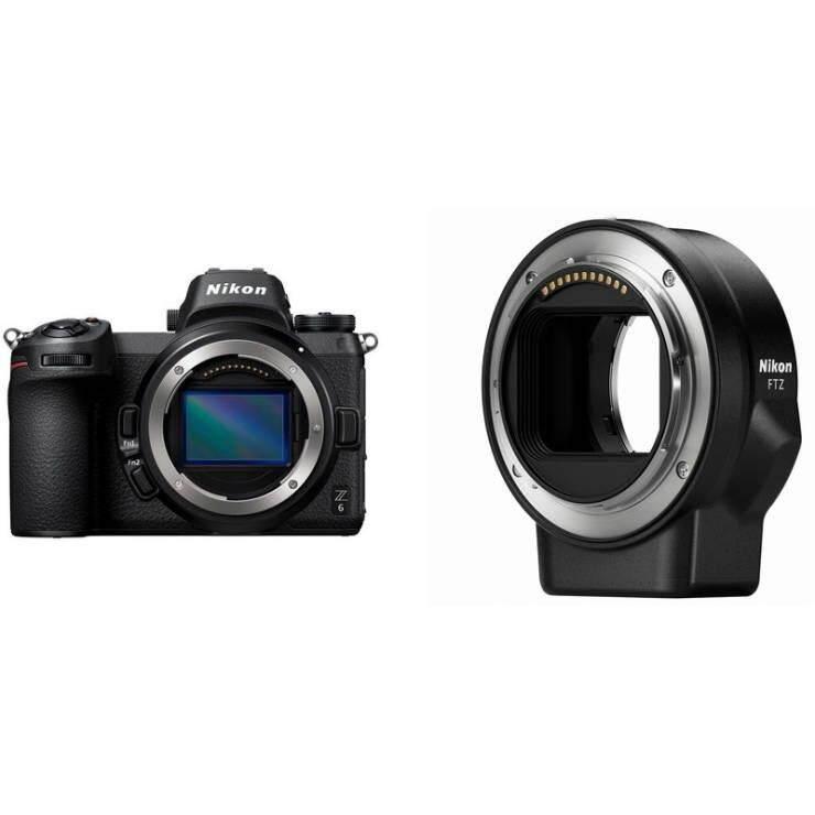 กล้องถ่ายรูป / กล้อง Nikon Z6 + Mount Adapter Ftz (ประกันศูนย์นิคอน 1 ปี).