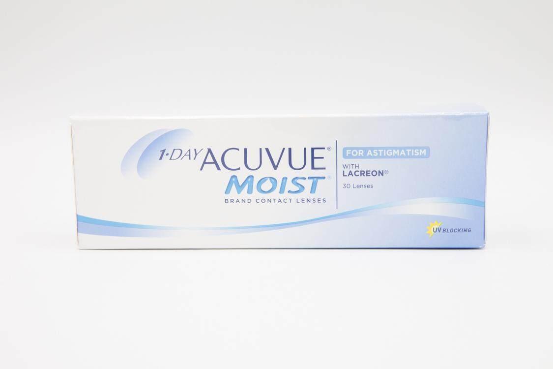Acuvue Moist 1 Day (สายตายาวและเอียง).