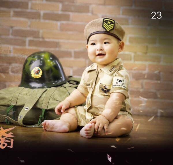 ราคา พร้อมส่ง!! ชุดแฟนซีเด็ก ชุดทหารกัปตันยู (Captain Yoo) Baby Fancy By Tritonshop