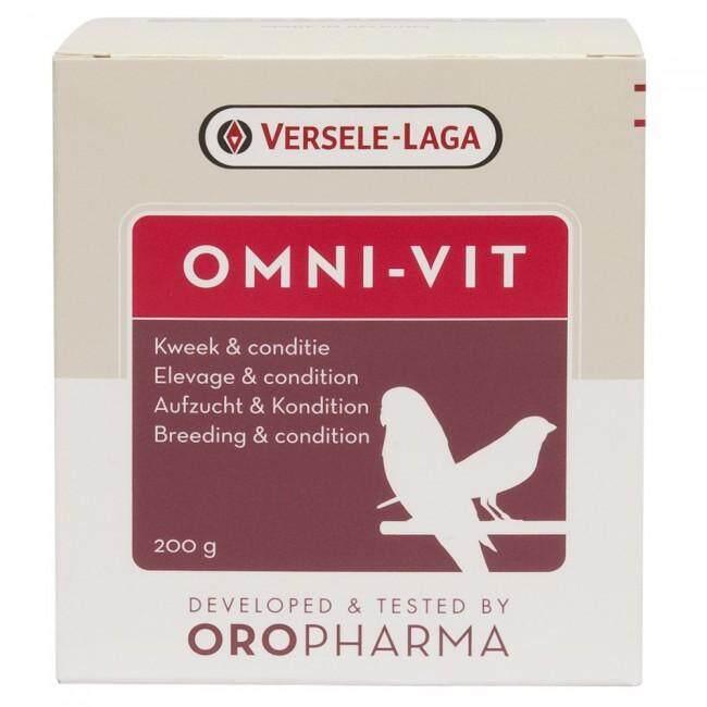 Image 2 for 25 กรัม - OROPHARMA - Omni Vit อาหารเสริมนกวิตามินรวมเข้มข้นแบบผง สร้างความสมบูรณ์ให้นกเพื่อการผสมพันธุ์ที่ดี - Versele Laga